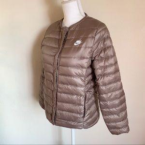 Nike Nude Puffer Jacket